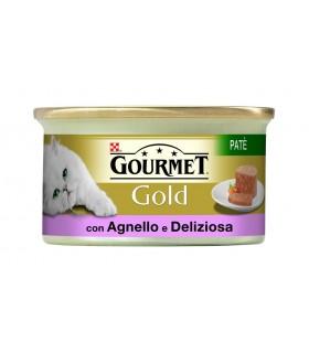 Gourmet gold pate con agnello e deliziosa anatra 85 gr