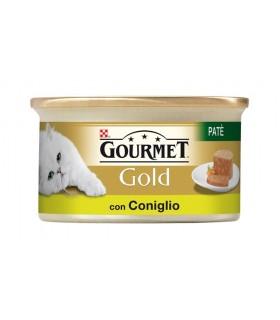 Gourmet gold pate con coniglio 85 gr