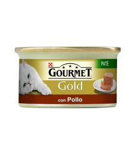 Gourmet gold pate con pollo 85 gr