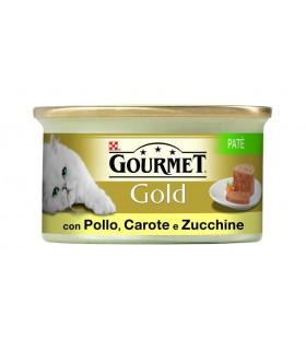 Gourmet gold pate con pollo carote e zucchine 85 gr