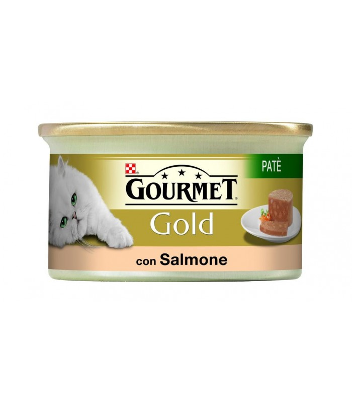 Gourmet gold pate con salmone 85 gr