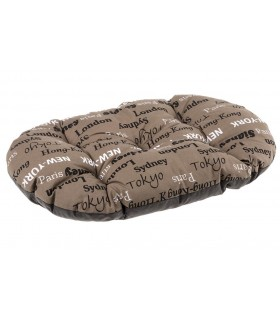 Ferplast relax 55/4 cuscino città marrone