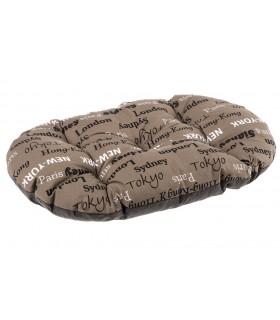 Ferplast relax 65/6 cuscino città marrone
