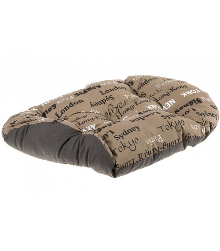 Ferplast relax 78/8 cuscino città marrone