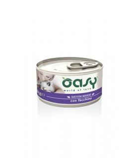 Oasy gatto mousse tacchino 85 gr