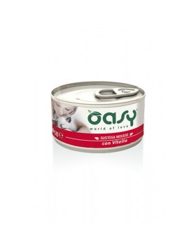 Oasy gatto mousse vitello 85 gr