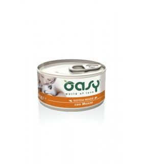 Oasy gatto mousse manzo 85 gr