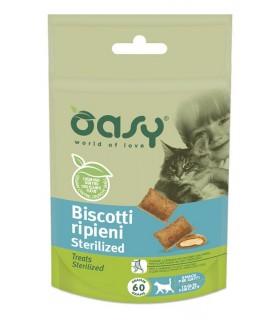Oasy snack gatto biscotti ripieni sterilized 60 gr