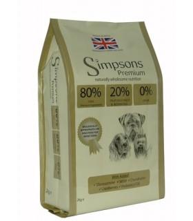 Simpsons Premium cane adult 80/20 mix pesce 2 kg