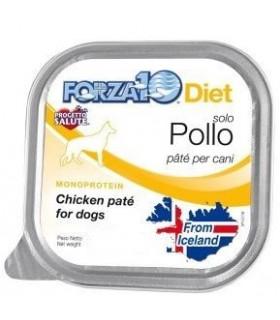 Forza 10 cane diet solo pollo 100 gr