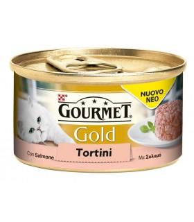 Gourmet gold tortini con salmone 85 gr