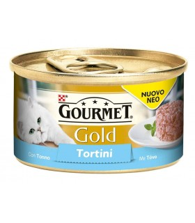 Gourmet gold tortini con tonno 85 gr