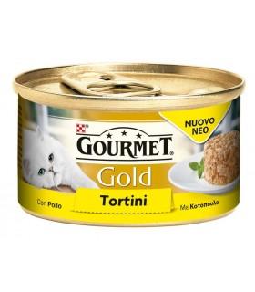 Gourmet gold tortini con pollo 85 gr