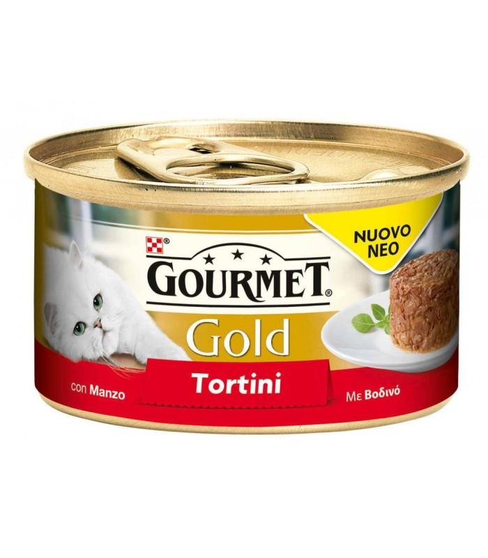 Gourmet gold tortini con manzo 85 gr