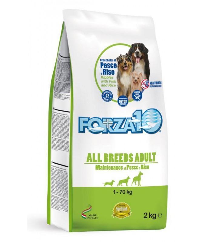 Forza 10 cane all breeds mantenimento pesce e riso 2 kg