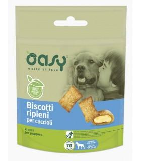 Oasy snack cane biscotti ripieni per cuccioli 70 gr