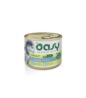 Oasy cane adult mini agnello umido 200 gr