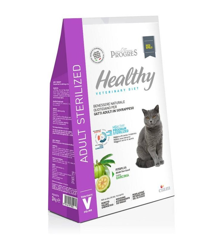 Fito progres gatto adult healty sterilized 1,5 kg