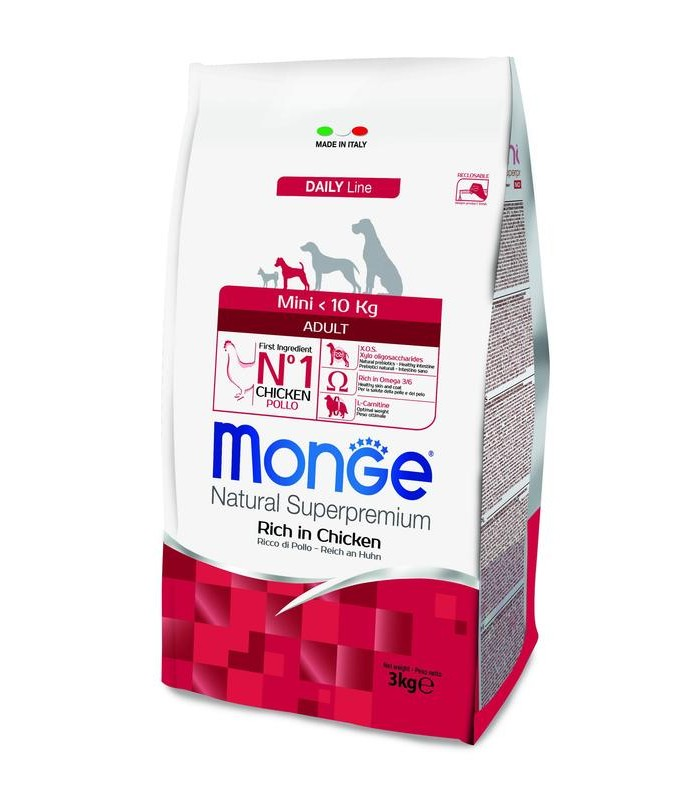 Monge cane adult mini 3 kg
