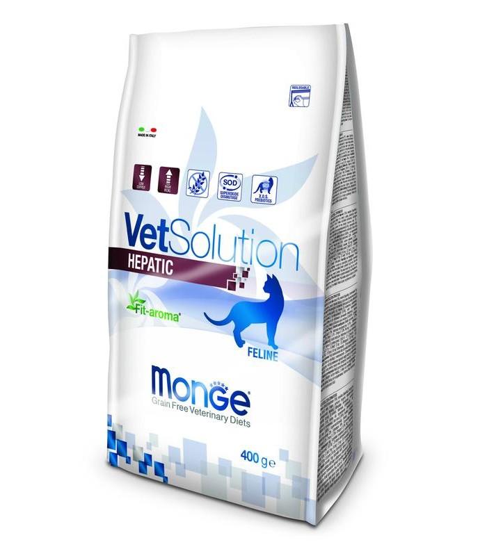 Monge vetsolution gatto hepatic 400 gr