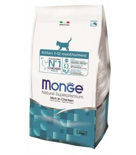 Monge gatto natural superpremium kitten pollo 1,5kg