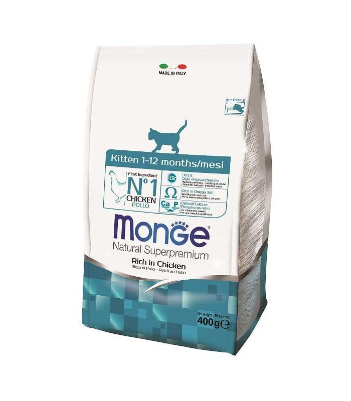 Monge gatto kitten 400 gr