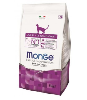 Monge gatto natural superpremium adult pollo 1,5 kg