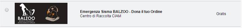 Ciam e Balzoo Emergenza Terremoto Centro Italia Un Aiuto Subito