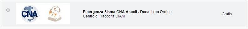 Ciam e CNA Emergenza Terremoto Centro Italia Un Aiuto Subito